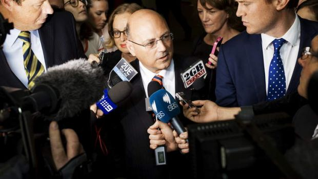 Too busy 'transitioning' to the Senate to notice the company's dire financial straits: Senator Arthur Sinodinos.