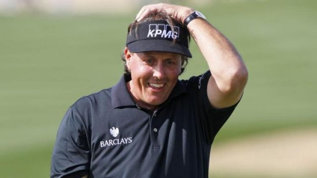 Phil Mickelson carded an impressive four-under-par 68 in the opening round of the Houston Open.