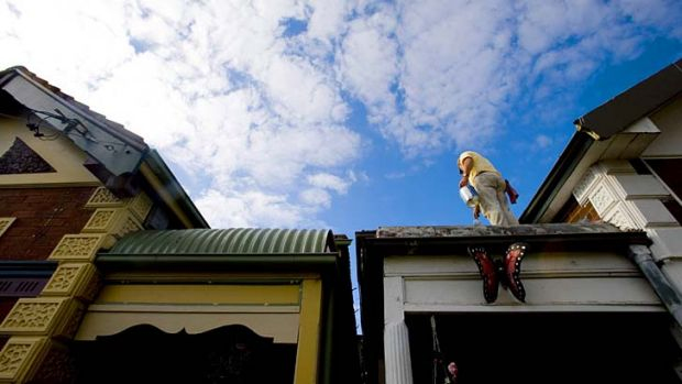 Squeeze is on: The proportion of new home loans issued to first home buyers was 12.6 per cent in March, just shy of the ...