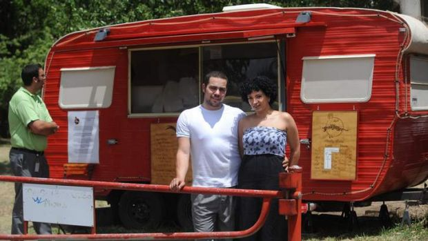 The old Brodburger van back in 2009, before it set up its permanent spot in Kingston.
