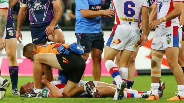 Alex McKinnon's injury should prompt the league and players to take stock.