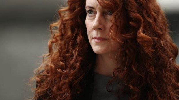 Former News International chief executive Rebekah Brooks arrives at court.