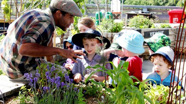 Kids can learn about planting, composting and worm farms at a pop-up veggie patch workshop.