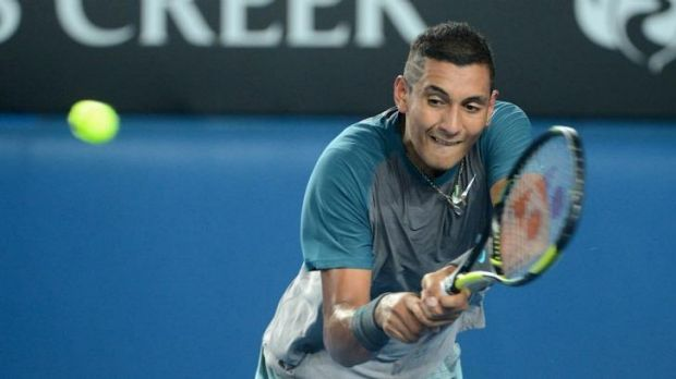 Back on track: Nick Kyrgios is aiming at getting into the French Open for the second time and Wimbledon for the first.