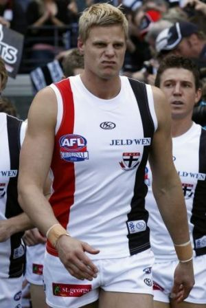 If Riewoldt fires on all cylinders, the Saints will be a chance of causing a major upset.