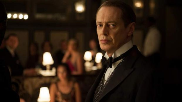 Exchanging a boardwalk for a park bench ... <i>Boardwalk Empire</i>'s Steve Buscemi gets a new show.