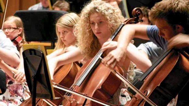 Creative opportunities: the Australian Youth Orchestra.