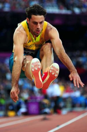 Silver lining: Mitchell Watt won a silver medal at the London Olympics.
