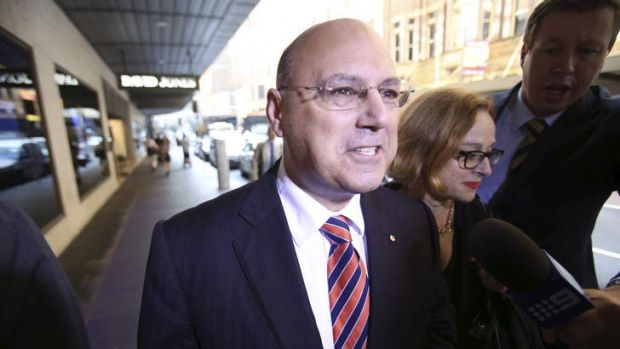 Arthur Sinodinos appears before the ICAC.