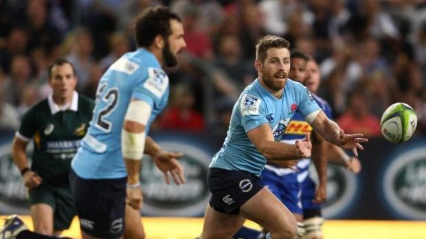 On the way up: After losing to the Sharks, the Waratahs owned up to their errors before facing the Stormers.
