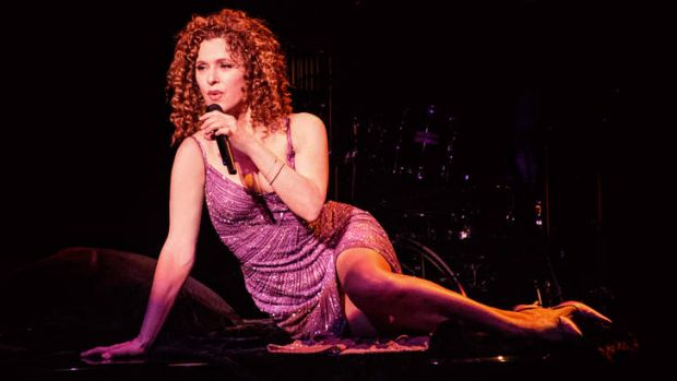 Bernadette Peters in Sydney.