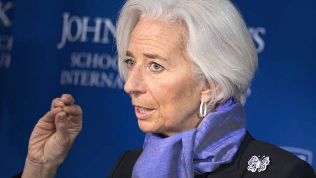 Job figures 'could be and they should be higher': The IMF's Christine Lagarde says a lack of confidence is holding the ...