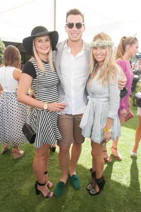 plenty of fashion and fillies at polo in the valley