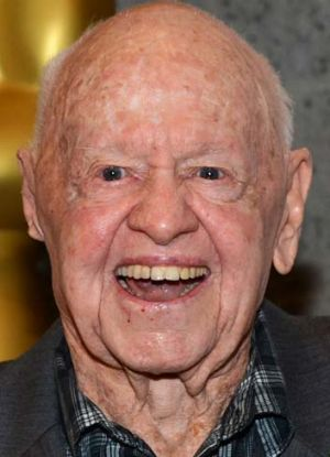 Dead at 93: Mickey Rooney.