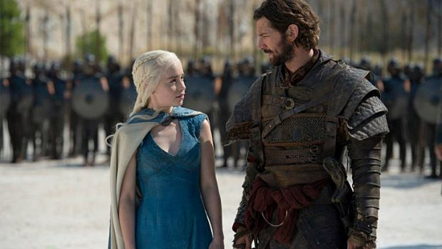 Like <i>Dynasty</i> ... Complicated chemistry between Daenerys Targaryen and Daario Naharis.