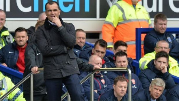 Everton manager Roberto Martinez has been touted a potential replacement for Wenger.