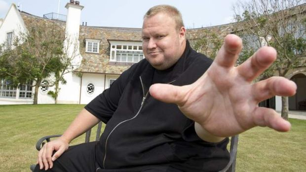 Online king pin: Kim Dotcom is the subject of a lawsuit from the major film studios who say he is making millions and ...