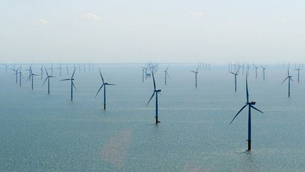 Stanford engineering professor Mark Z. Jacobson believes a 100,000 turbine off-shore wind farm would have tamed ...