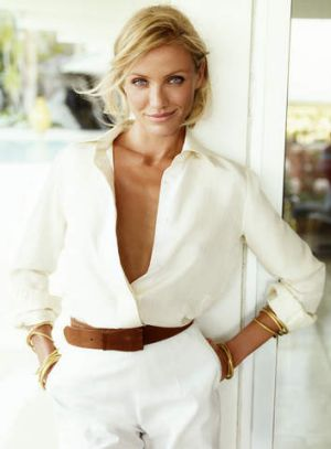 Cameron Diaz says she can sniff out someone fake.