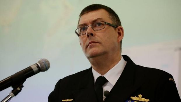 """Several sailors have had their employment terminated"": Vice Admiral Ray Griggs."