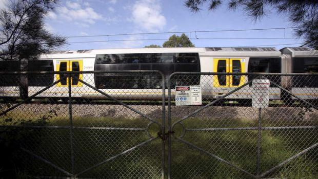 Short cut: The site just outside Wyong where Michael Maloney was struck and killed by a train.