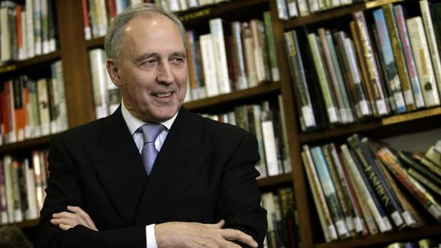"""""""What you do not need is a Sydney architect anywhere near this."""": Paul Keating."""