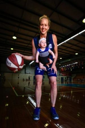More accommodating: Bishop says the Canberra Capitals have helped her manage her parenting duties.