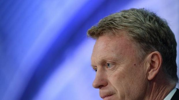 Manchester United's David Moyes.