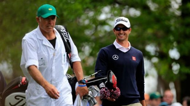 Adam Scott is enjoy his time as US Masters champion.