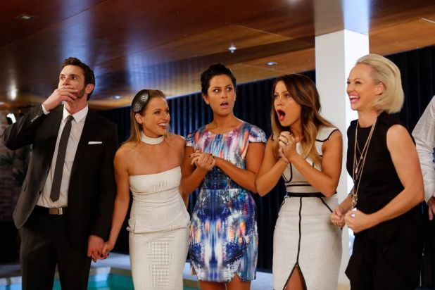 Auctions for Channel Nine's reality series The Block: Fans v Faves.
