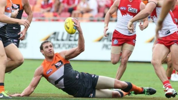 Who will you be watching? The GWS Giants and Shane Mumford...
