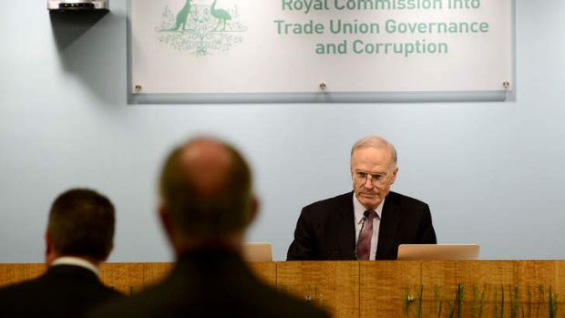 First day of royal commission: Dyson Heydon declares inquiry is not setting out to curb trade union activities.