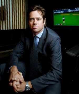 Top candidate to become the AFL top boss, Gillon McLachlan.