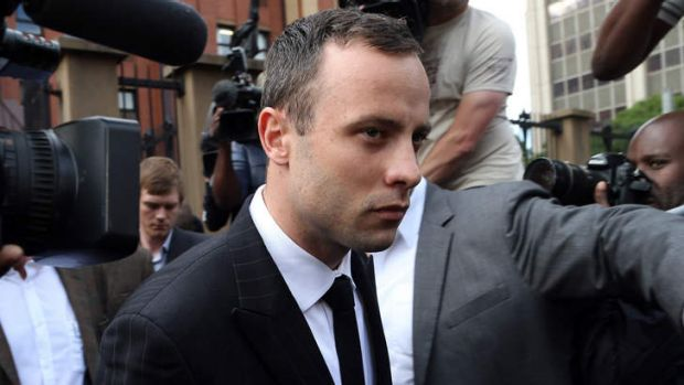 'My mistake was that I took Reeva's life' ... Oscar Pistorius leaves the high court in Pretoria.