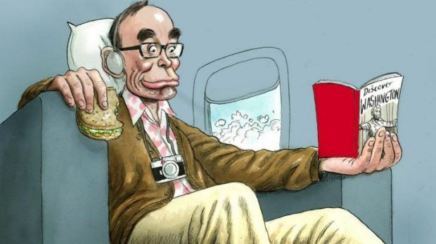 Bob Carr says he is not a snob for complaining about travelling business class.