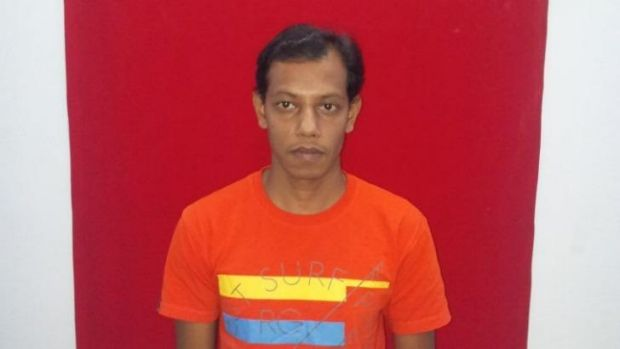 Mohammad Saiful Islam Tanu from Bangladesh was caught on his way to get a boat to New Zealand.