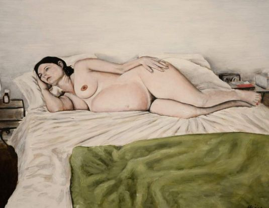 """Work by Lily Mae Martin titled """"33Weeks""""."""