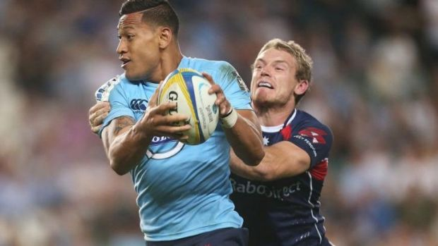 Back in business: Israel Folau.