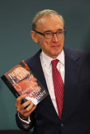 """I make no apologies for providing people with a darn good story"": Bob Carr."