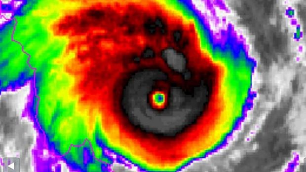 Cyclone Ita strengthened to become a category 5 storm on Thursday night.