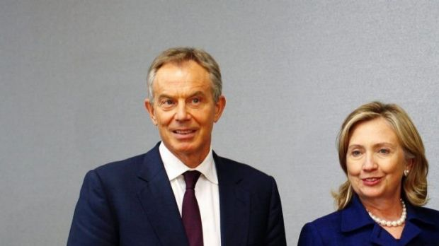 Tony Blair: was reportedly mentioned in Wendi Deng's diary.