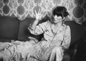 Linda Ronstadt during an interview with <i>The Sydney Morning Herald</i> in 1979.
