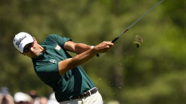 Georgia on his mind: Adam Scott makes a strong start at the Masters.