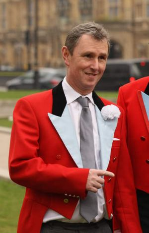 Cleared: Nigel Evans, former deputy speaker of Britain's parliament.