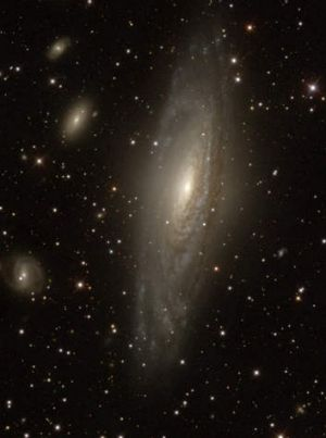 Light images of Galaxy NGC 7331.