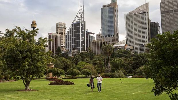 Royal Botanic Gardens: Aspects of a master plan for the gardens' revamp has caused a rift.