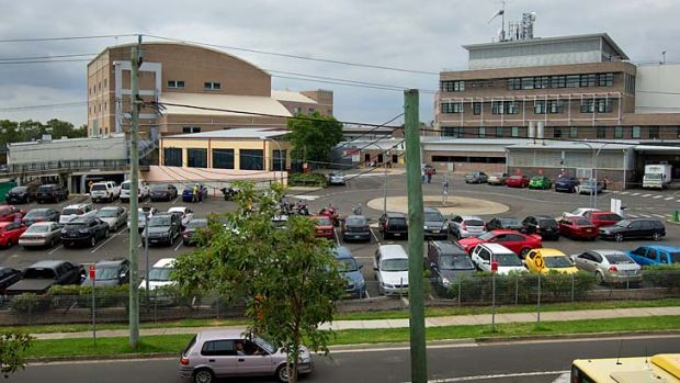 Nepean Hospital, where the assault is alleged to have taken place.