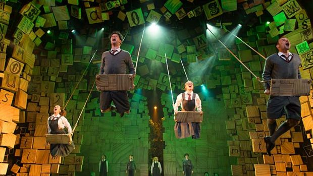 The Royal Shakespeare Company's production of <i>Matilda</i>.