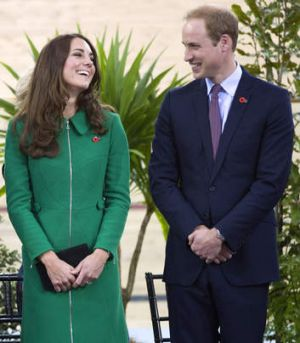 Prince William, Duke of Cambridge and Catherine, Duchess of Cambridge.