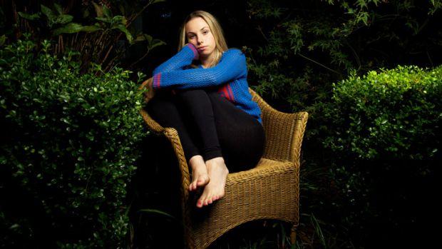 Wild web: Schoolgirl Katia van Hilten says Ask.fm is the worst social media site for bullying behavious.